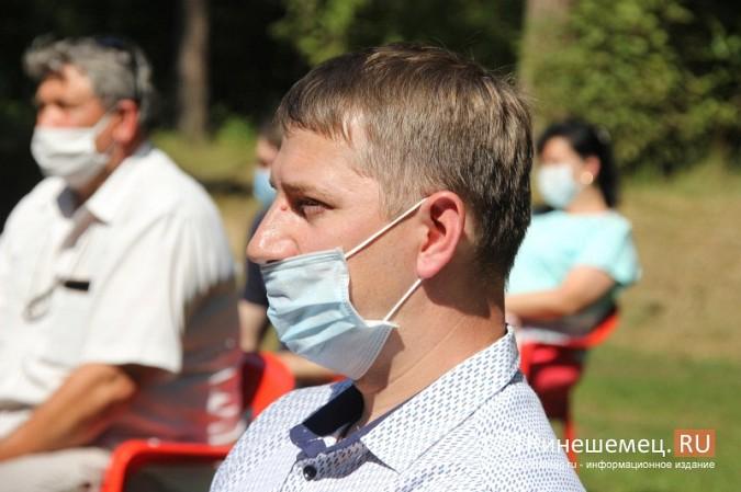 Станислав Воскресенский встретился с общественностью Кинешмы на парке на «стартовой» поляне фото 6