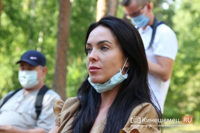 Станислав Воскресенский встретился с общественностью Кинешмы на парке на «стартовой» поляне фото 21