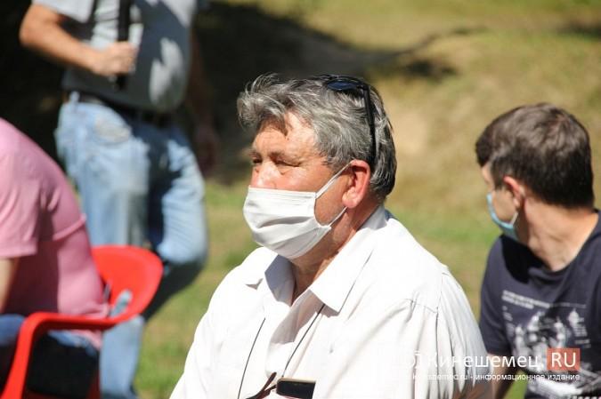Станислав Воскресенский встретился с общественностью Кинешмы на парке на «стартовой» поляне фото 5