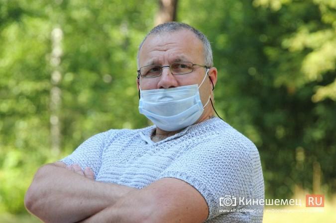Станислав Воскресенский встретился с общественностью Кинешмы на парке на «стартовой» поляне фото 22