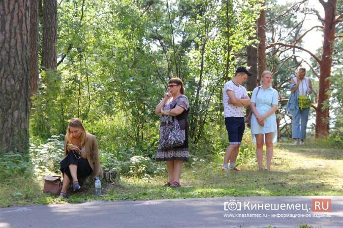 Станислав Воскресенский встретился с общественностью Кинешмы на парке на «стартовой» поляне фото 30