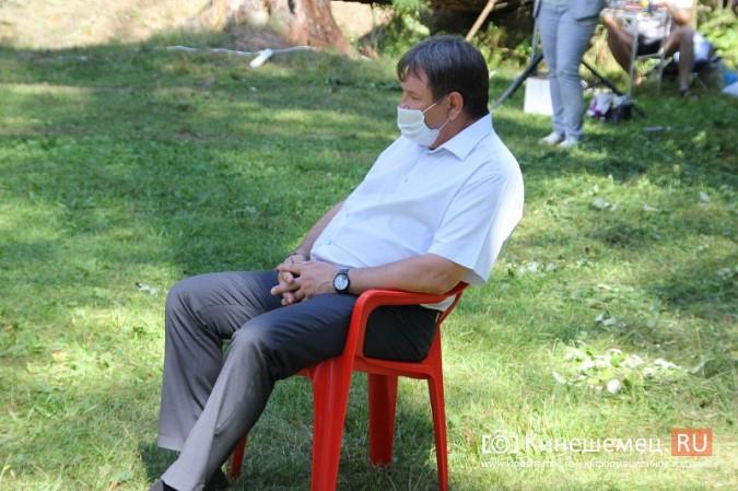 Станислав Воскресенский встретился с общественностью Кинешмы на парке на «стартовой» поляне фото 12