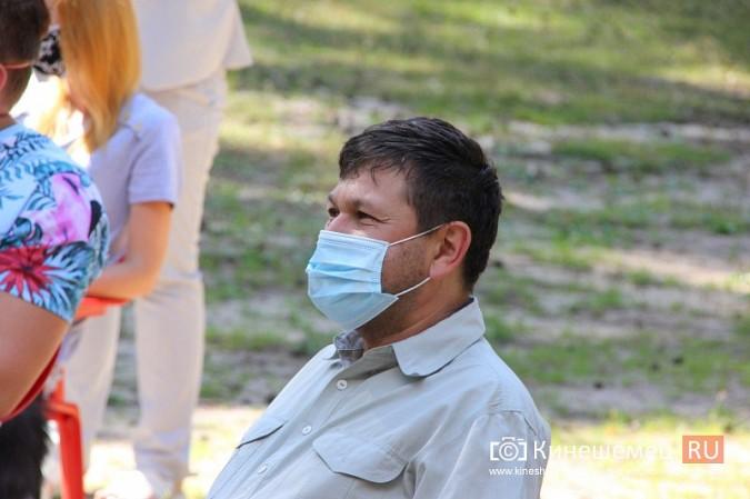 Станислав Воскресенский встретился с общественностью Кинешмы на парке на «стартовой» поляне фото 24
