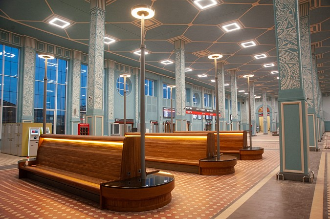 Железнодорожный вокзал в Иваново открыли после реконструкции фото 8