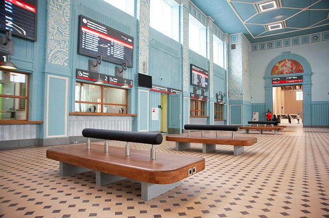Железнодорожный вокзал в Иваново открыли после реконструкции фото 4