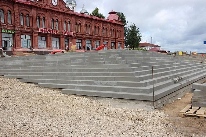Вячеслав Ступин проверил ход работ на главных инфраструктурных объектах фото 9