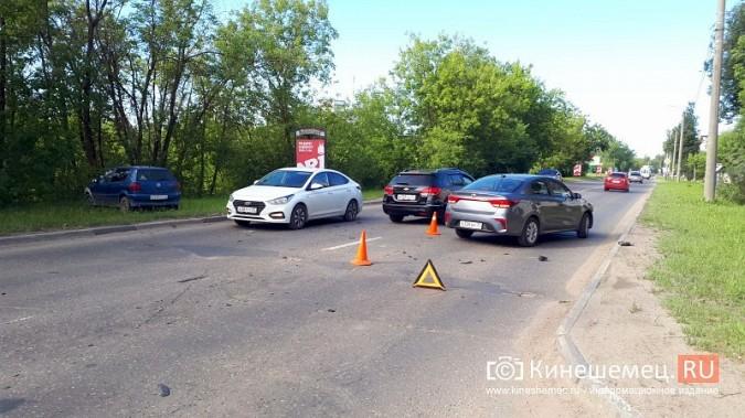 В час пик на ул.Вичугской столкнулись Volkswagen Polo и Kia Rio фото 6