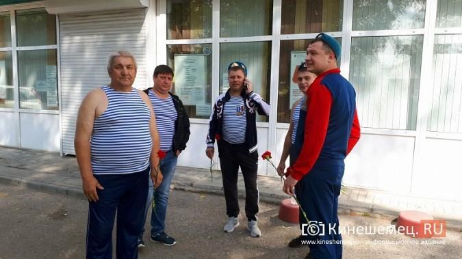 В День 90-летия ВДВ кинешемские десантники возложили цветы к бюсту Василия Маргелова фото 6