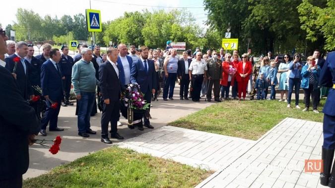 В День 90-летия ВДВ кинешемские десантники возложили цветы к бюсту Василия Маргелова фото 16