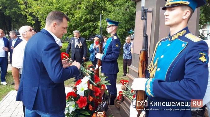 В День 90-летия ВДВ кинешемские десантники возложили цветы к бюсту Василия Маргелова фото 22