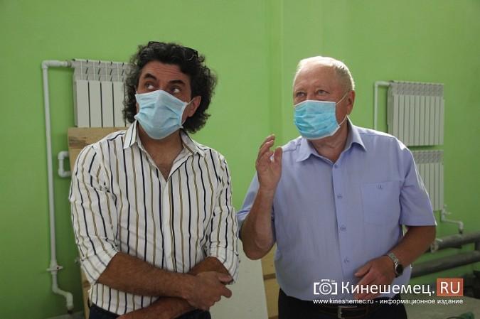 И.о.главы Кинешмы В.Ступин проинспектировал ремонт в образовательных учреждениях фото 8