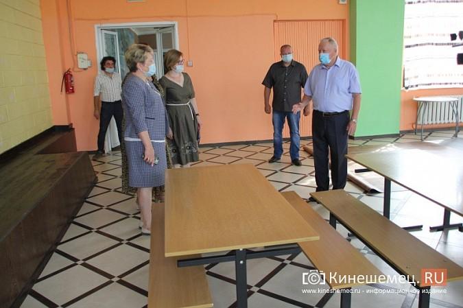 И.о.главы Кинешмы В.Ступин проинспектировал ремонт в образовательных учреждениях фото 9