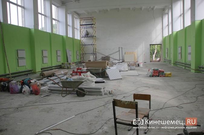 И.о.главы Кинешмы В.Ступин проинспектировал ремонт в образовательных учреждениях фото 5