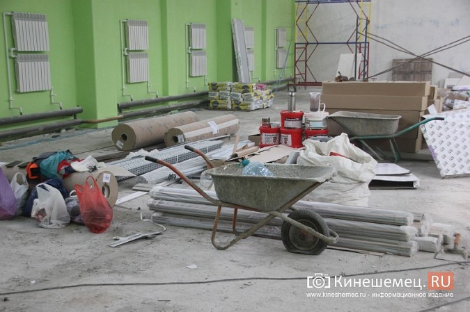 И.о.главы Кинешмы В.Ступин проинспектировал ремонт в образовательных учреждениях фото 7