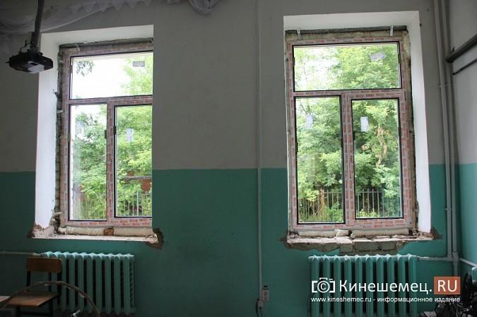 И.о.главы Кинешмы В.Ступин проинспектировал ремонт в образовательных учреждениях фото 17