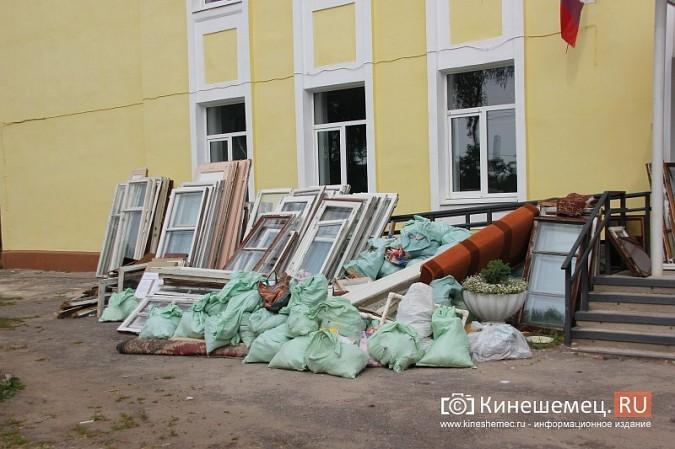 И.о.главы Кинешмы В.Ступин проинспектировал ремонт в образовательных учреждениях фото 14