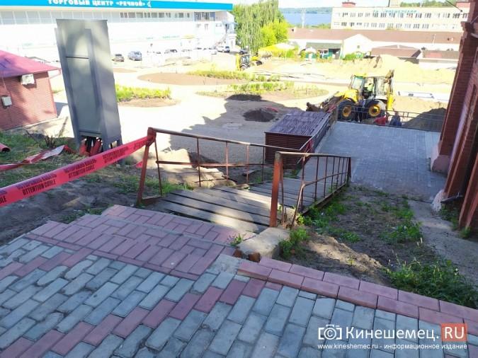 Благоустроят ли деревянную лестницу у Красных торговых рядов? фото 2
