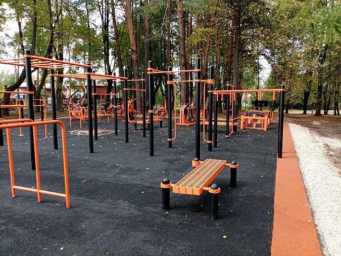 В Наволоках открыли спортивную площадку фото 6