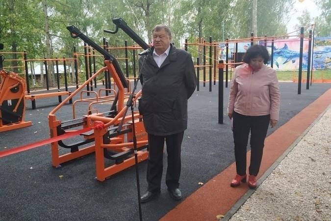 В Наволоках открыли спортивную площадку фото 3