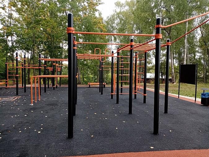 В Наволоках открыли спортивную площадку фото 4