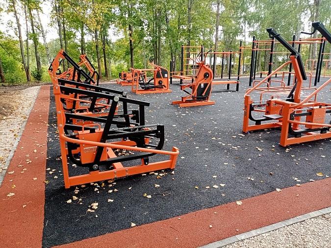 В Наволоках открыли спортивную площадку фото 9