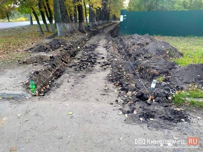 В Кинешме на улице Вичуской начался ремонт тротуаров фото 15