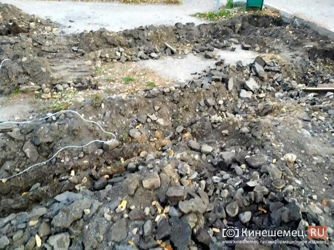 В Кинешме на улице Вичуской начался ремонт тротуаров фото 14