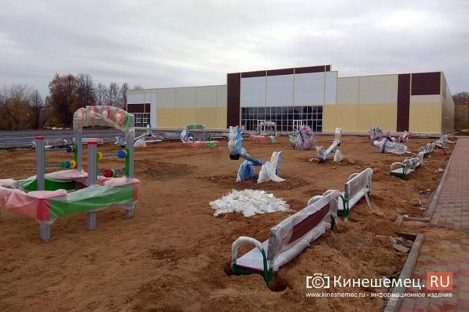 У гипермаркета «Лига Гранд» возводится огромная площадка для детей фото 2