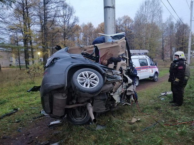Пять человек погибли в жуткой аварии на Кохомском шоссе фото 3