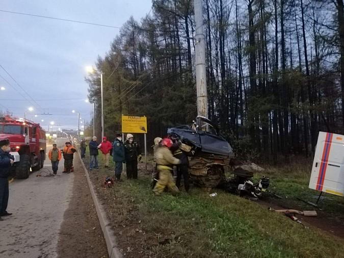 Пять человек погибли в жуткой аварии на Кохомском шоссе фото 2