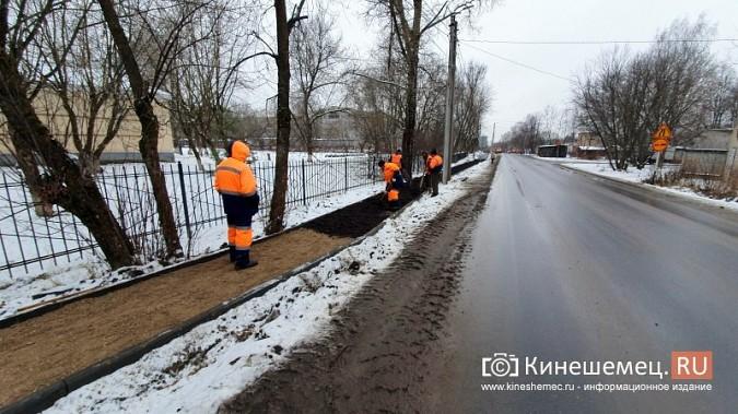 Made in Kineshma: под дождем и снегом в городе завершают формировать комфортную среду фото 14