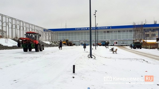 Made in Kineshma: под дождем и снегом в городе завершают формировать комфортную среду фото 5