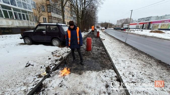 Made in Kineshma: под дождем и снегом в городе завершают формировать комфортную среду фото 7