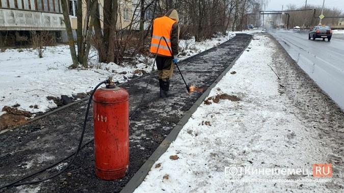Made in Kineshma: под дождем и снегом в городе завершают формировать комфортную среду фото 8