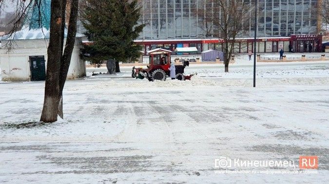 Made in Kineshma: под дождем и снегом в городе завершают формировать комфортную среду фото 4