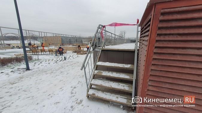 В центре Кинешмы приступили к сборке еще трех скамеек за миллион фото 7