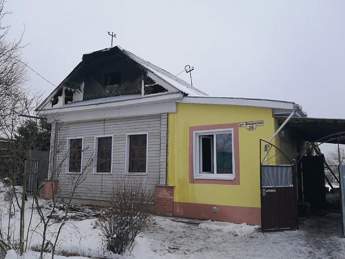 В Кинешме сгорела баня и крыша дома фото 3