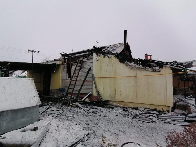 В Кинешме сгорела баня и крыша дома фото 2