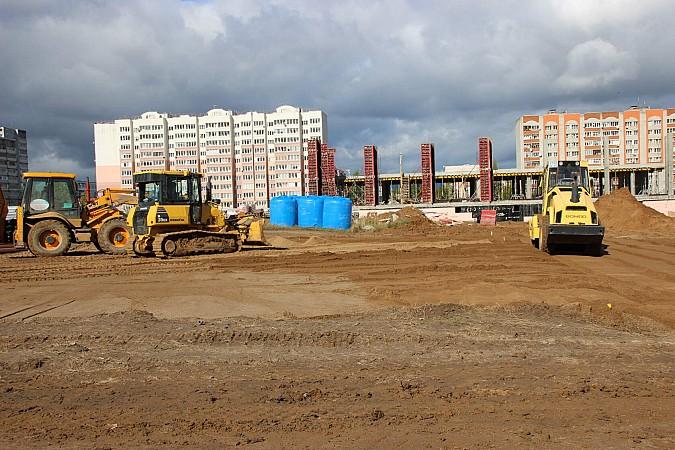 В Кинешме в рамках нацпроекта «Демография» завершается строительство нового бассейна фото 11