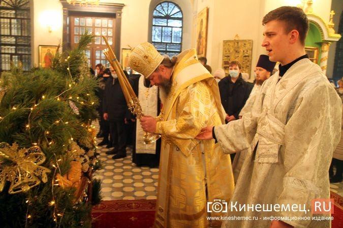 В православных храмах Кинешмы прошли рождественские службы фото 16