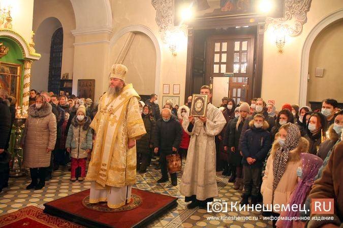 В православных храмах Кинешмы прошли рождественские службы фото 2