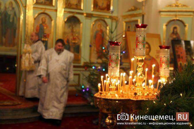 В православных храмах Кинешмы прошли рождественские службы фото 11