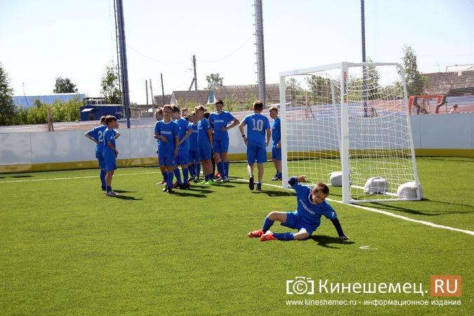 В Кинешме открыли новый мини-стадион с беговыми дорожками и футбольным полем фото 4