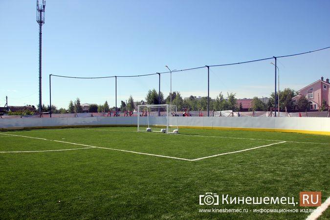 В Кинешме открыли новый мини-стадион с беговыми дорожками и футбольным полем фото 6