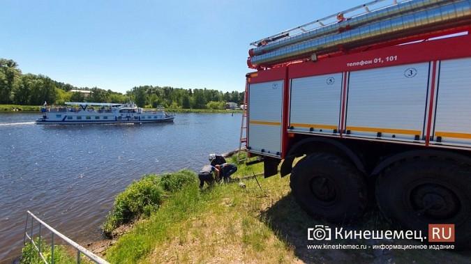 Пожарные расчеты Кинешмы стянуты на тушение дома в историческом центре города фото 9