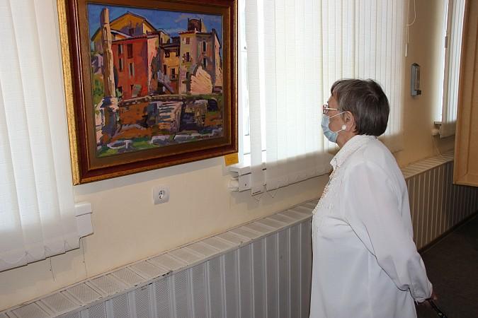В Кинешме открылась выставка члена Союза художников Владимира Валенцова фото 5