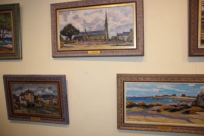 В Кинешме открылась выставка члена Союза художников Владимира Валенцова фото 4