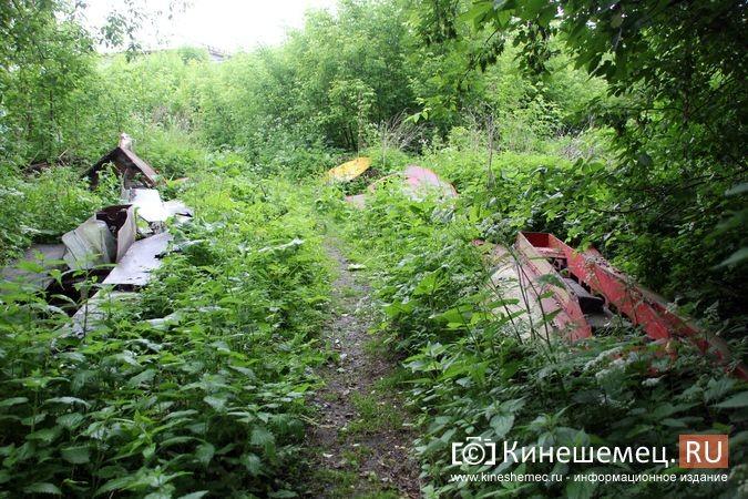В Кинешме в зарослях у Никольского моста обнаружилось «кладбище» спортивных мотолодок фото 2