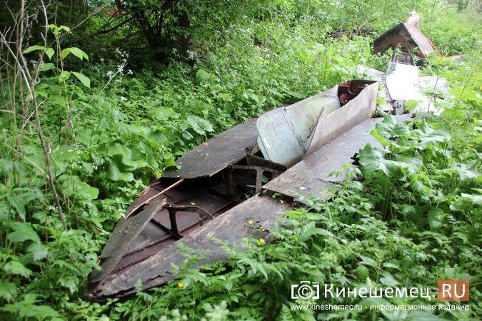 В Кинешме в зарослях у Никольского моста обнаружилось «кладбище» спортивных мотолодок фото 3
