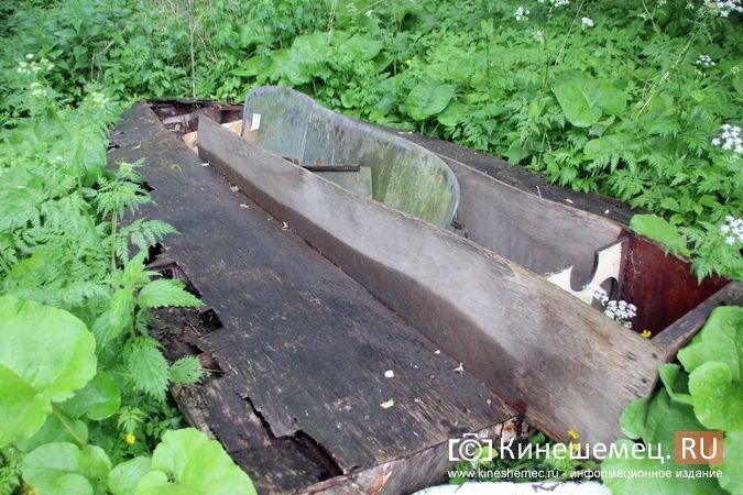 В Кинешме в зарослях у Никольского моста обнаружилось «кладбище» спортивных мотолодок фото 8